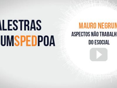 Vídeo das palestras do 3º Fórum SPED Porto Alegre – Mauro Negruni (2ª palestra)